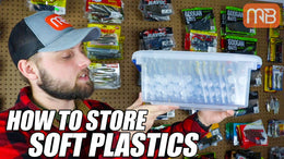 Storing Soft Plastic Fishing Lures (EASY Tip)
