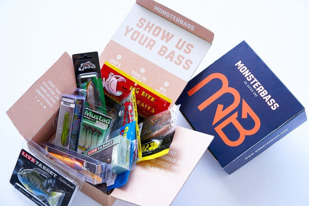 Midwest & Great Lakes Bass Box Gift - 3 Months