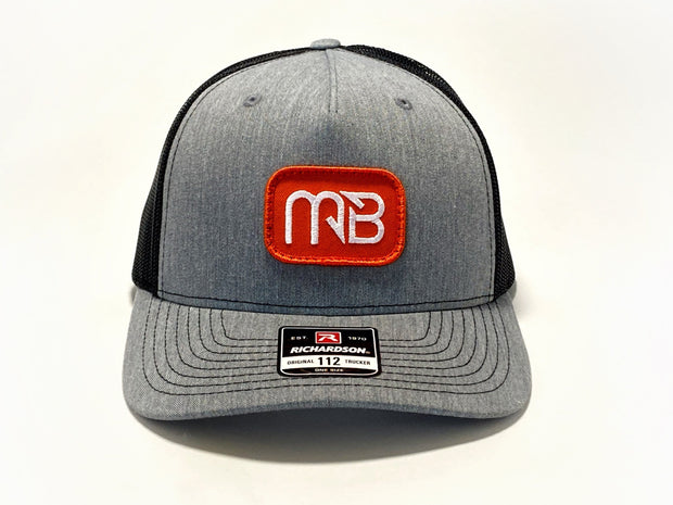 MONSTERBASS Orange Patch Hat