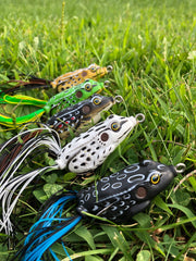 Premium Hollow Body Frogs (5 pack)