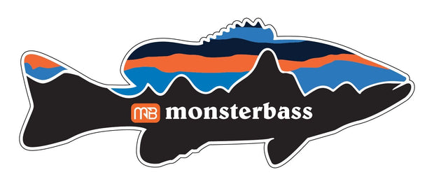 Mountain Fish Sticker