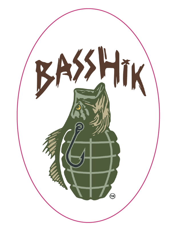 Oval Basshik Sticker