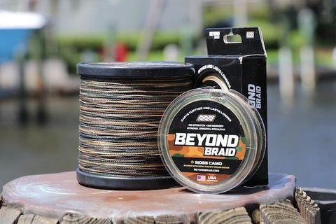 Moss Camo Braid 150 Yards - 40lb