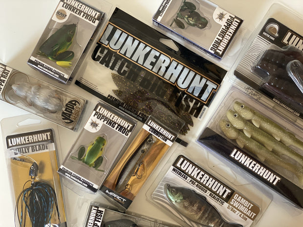 LUNKERHUNT Bundle (4 pack)
