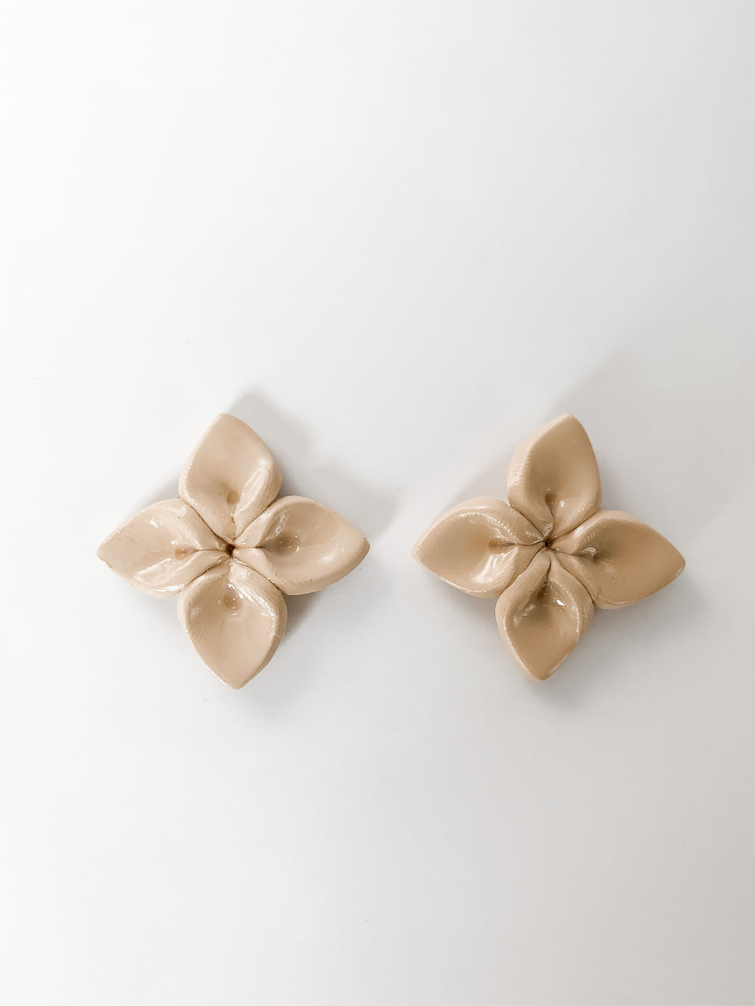 Flower Statement Stud