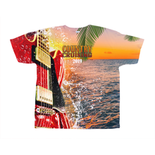 Load image into Gallery viewer, Country Cruising Lineup - Unisex All-Over Print Tee