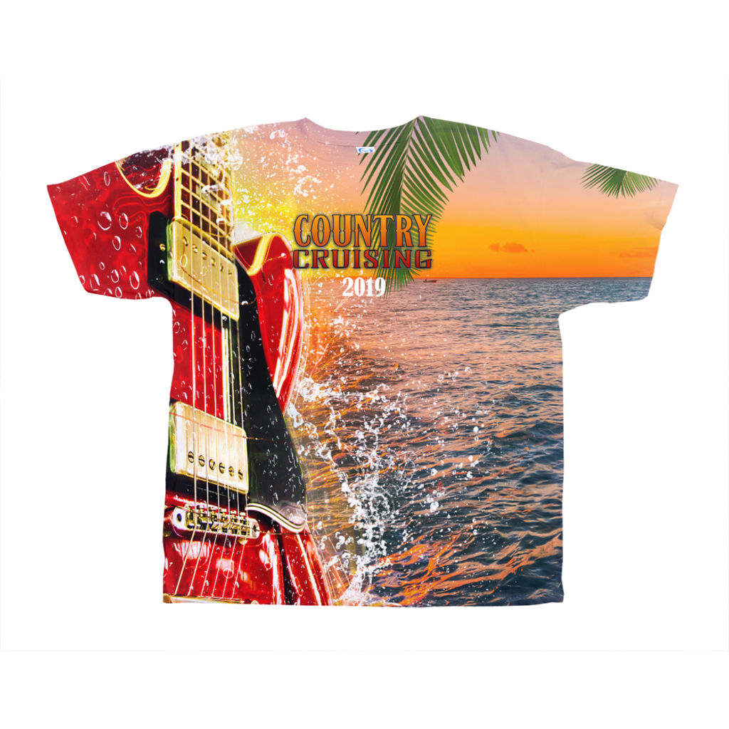 Country Cruising Lineup - Unisex All-Over Print Tee