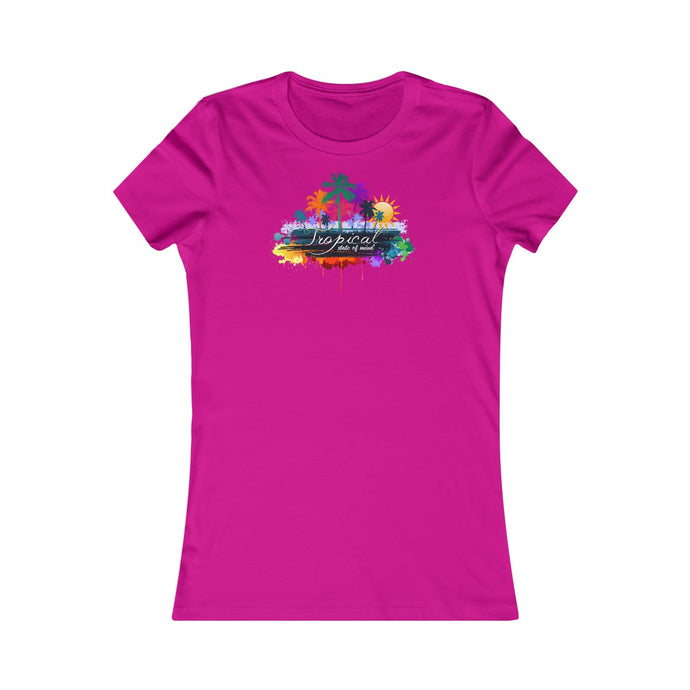 Tropical State of Mind - Women's Favorite Tee