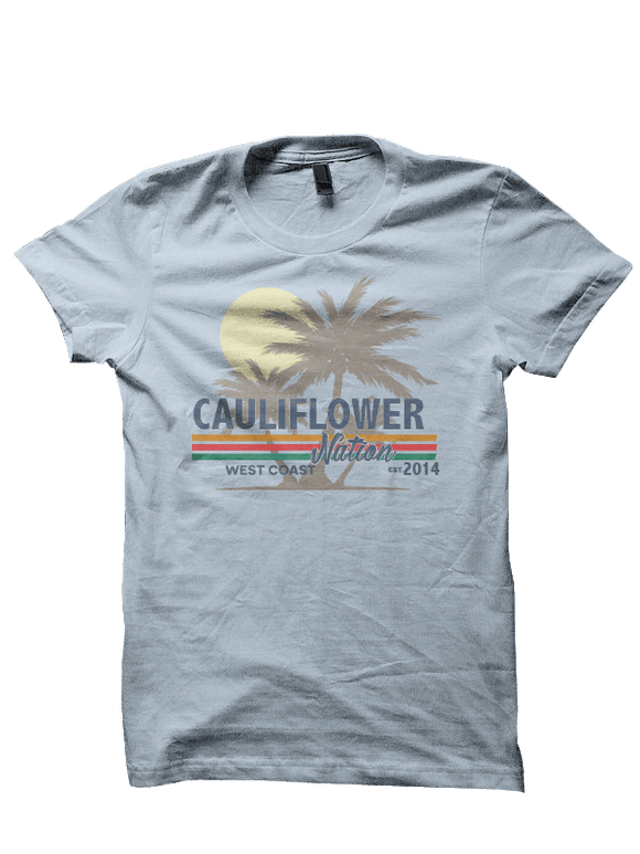 Cauliflower Nation Vibes Tee