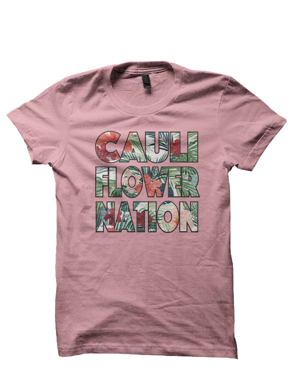 Cauliflower Nation Hawiian Tee