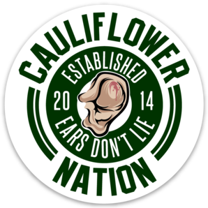 Cauliflower Nation Java Ear Sticker