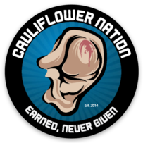 Cauliflower Nation Signature Logo Sticker