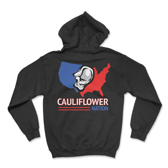 Cauliflower Nation Wrestling Hoodie