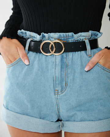Double Trouble Belt - Gold