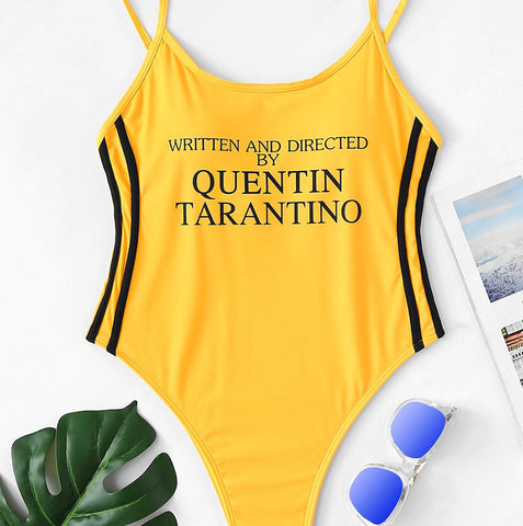 Yellow Quentin Swimsuit