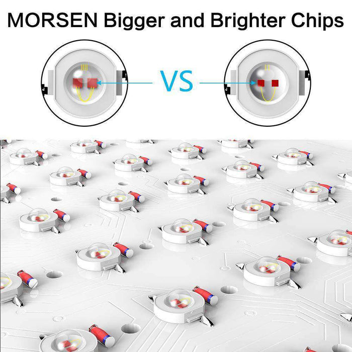 Dual Chips Led Grow Light - Morsen