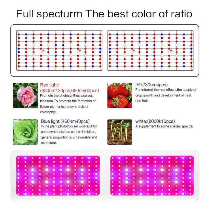 full spectrum plant grow light - Morsen
