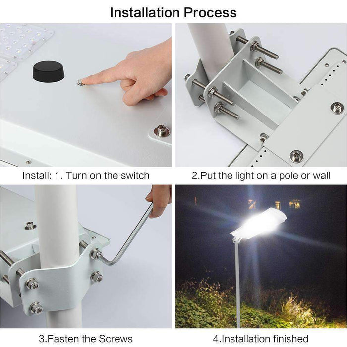 25w T Series Solar Street Light