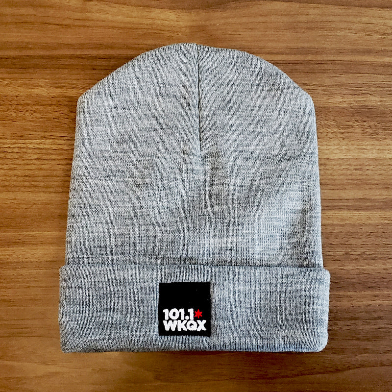 The Official 101.1 WKQX Beanie Hat Limited Time $10.11 Price!!