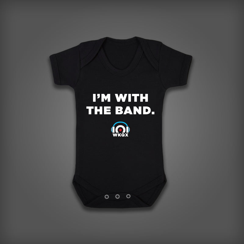 """I'M WITH THE BAND"" Onesie"
