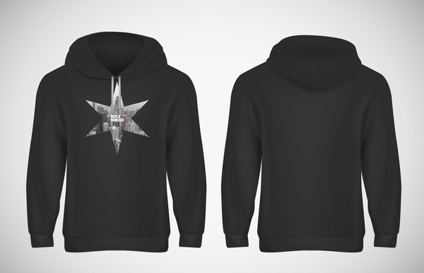 """Chicago Star"" Pullover Hoodie"
