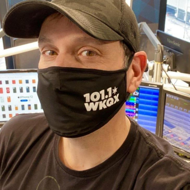 The Official 101.1 WKQX Face Mask