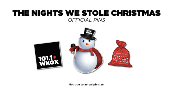 The Nights We Stole Christmas Official PIN Set(3)