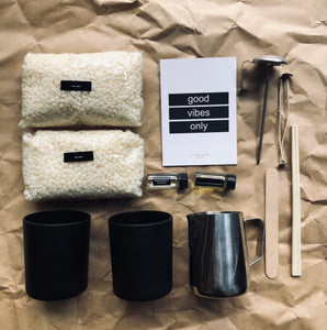 Candle Making Kit- 2 candles