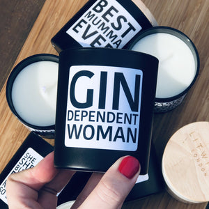 Gin dependent woman