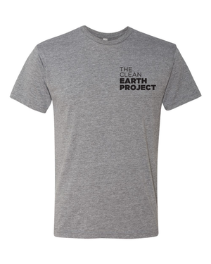 the clean earth project logofront of boobies tank