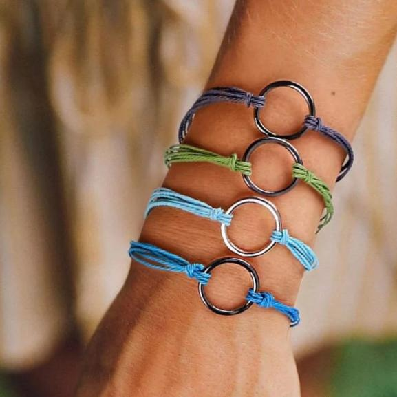 the clean earth project circle bracelet
