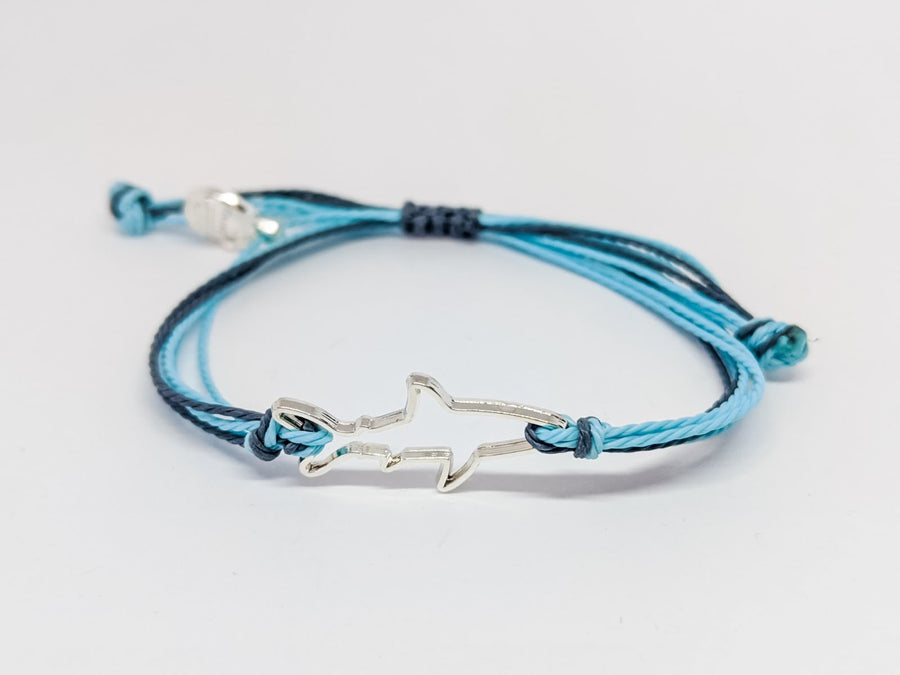the clean earth project shark bracelet