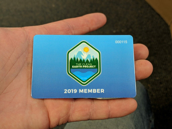 The Clean Earth Project Membership Card