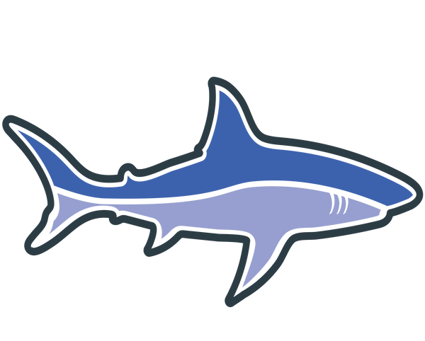 the clean earth project shark sticker
