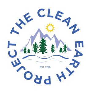 the clean earth project circle sticker