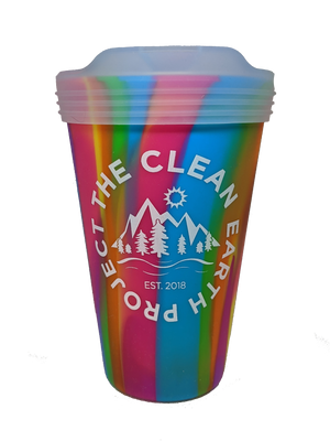 The Clean Earth Project SiliPint Reusable Pint