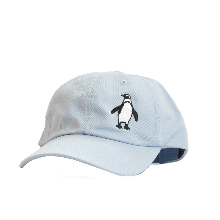 penguin unstructured pink hat