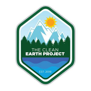 the clean earth project diamond sticker