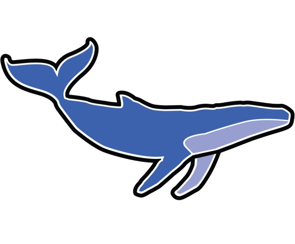 the clean earth project whale sticker