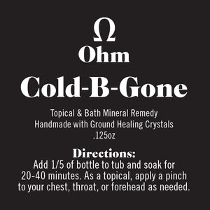 Cold B. Gone • Bad Cold Remedy