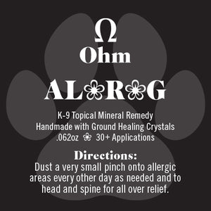 K-9 AL❀R❀G • Allergy Remedy