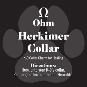 K-9 Herkimer Diamond for Collars