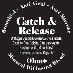 Mineral Diffusing Blend ❖ Catch & Release  Anti-Viral