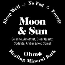 Load image into Gallery viewer, Moon & Sun ✚  Holistic Mineral Bath