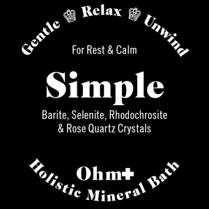 Simple • Holistic Mineral Bath