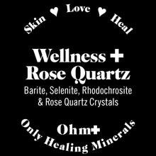 Load image into Gallery viewer, Wellness ✚ Rose Quartz 🛁 Holistic Mineral Bath