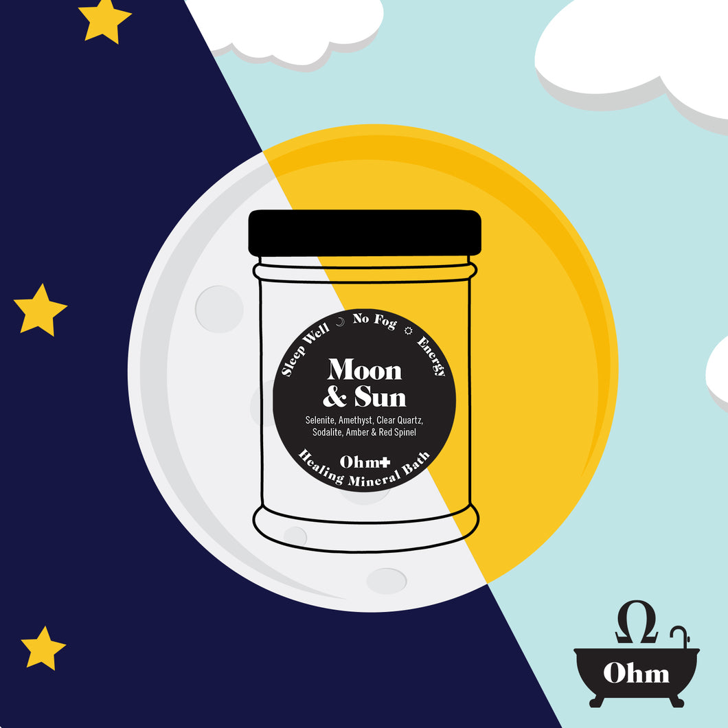 Moon & Sun ✚  Holistic Mineral Bath