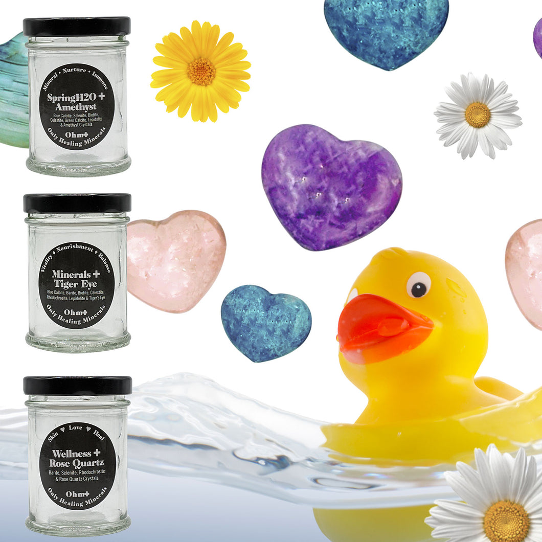 Ohm✚ Holistic Mineral Baths 3 Bath Box