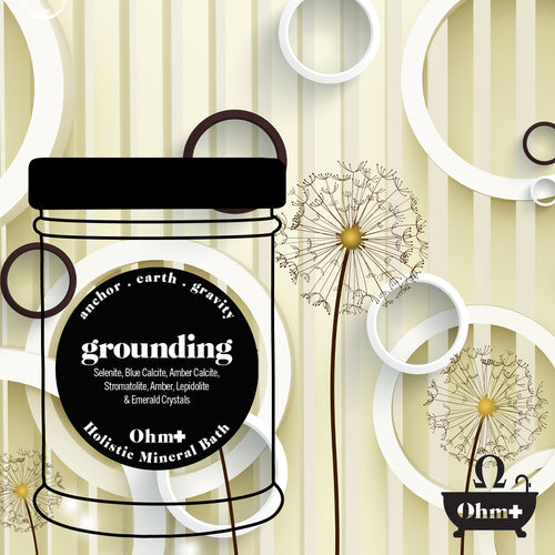 grounding • earthing holistic mineral bath