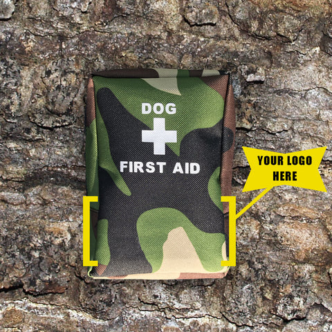 custom dog kit with logo placement